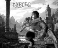 Cyborg drawing by longbull