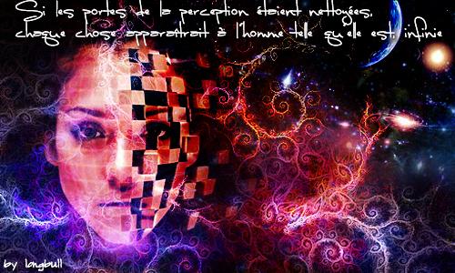 by longbull13 Si les portes de la perception étaient nettoyées, chaque chose apparaîtrait à l'homme telle qu'elle est, infinie