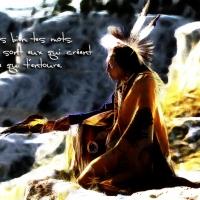 """""""Citation du jour"""" Pensée Navajo"""
