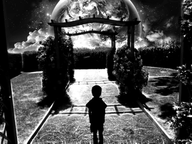 First contact Black & white by longbull