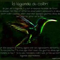 La légende du colibri by longbull