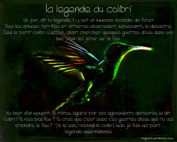 la legende du colibri by longbull