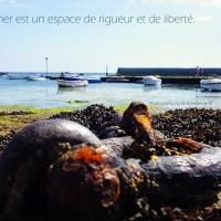 La mer est un espace de rigueur et de liberté...