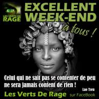 Les verts de rage - Lao tseu - Citation