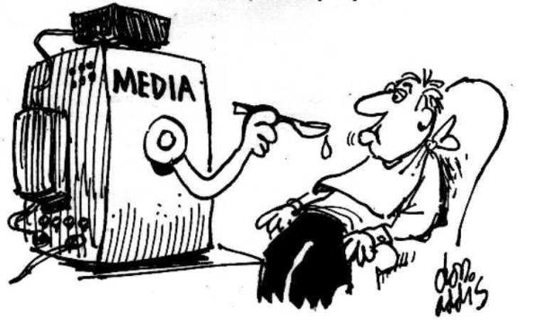 Illustration -Médias de masse