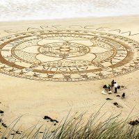 WE ARE OCEAN Sand Art Mandala