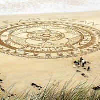 WE ARE OCEAN Sand Art Mandala