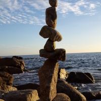 Sur des nuages de granit ~ Land Art