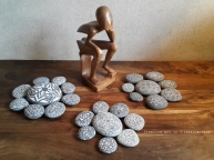 Pebbles painting Art